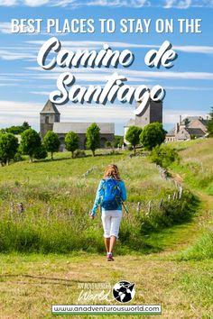 Best Places to Stay on the Camino de Santiago, Spain - Are you thinking of taking on one of the best hikes in the world? Then here are the best places to stay on the Camino de Santiago in Spain! Spain And Portugal, Portugal Travel, Spain Travel, Europe Destinations, Europe Travel Tips, Hiking Guide, Thru Hiking, The Camino, Travel Couple
