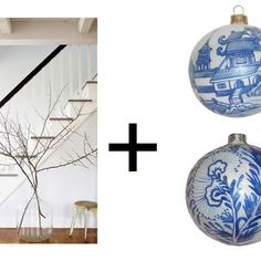 holiday decor idea: DIY branch trees via #haskellharris @magpiebyhaskellharris.blogspot.com