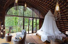 Villa Pererepan di design dengan material yang sustainable dan berkualitas tinggi