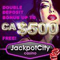 Jackpot City Casino has been in operation since 1998. Jackpot City Casino offer €500 free bonus.