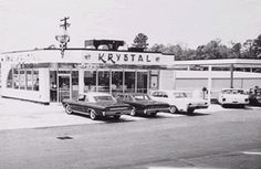 Krystal: The History of Hamburger Restaurant Chains Vintage Florida, Old Florida, Florida Georgia, Krystal Restaurant, Krystal Burger, White Castle Burgers, Jacksonville Fla, Columbus Ga, Chattanooga Tennessee