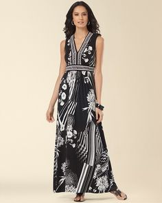98e23ffcde3 Border Print Maxi Dress Wore this once so far - got stopped 3 times on the  street with compliments!