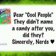 love being a nerd!