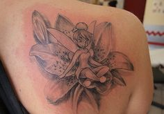 tinkerbell tattoos for woman | 25 Stupendous Tinkerbell Tattoos