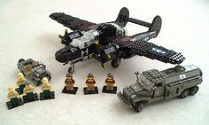 Photos of Lego military vehicles and characters : theBRIGADE