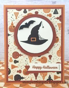 Spooky Cat, Spooky Night dsp, Seasonal Tags Framelits, Stitched Shapes Framelits - all from Stampin` Up!