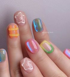 Cute Nails, Pretty Nails, Lady Fingers, Kawaii Nails, Hair Tattoos, Minimalist Nails, Perfect Nails, All Things Beauty, Nail Inspo