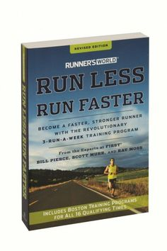 This new edition of Run Less, Run Faster continues to promise the same tantalizing results: Readers can get stronger, faster, and better by training less. The quality-over-quantity approach optimizes training time and yields better performance—results runners will love no matter what distance they are racing.