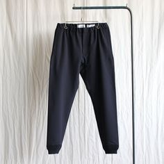 2way Pants - rib #navy/set up