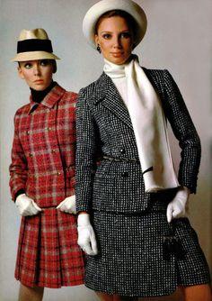 Christian Dior and Saint-Laurant L'Officiel Magazine 1968