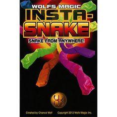 Insta-Snake by Wolf's Magic - Trick