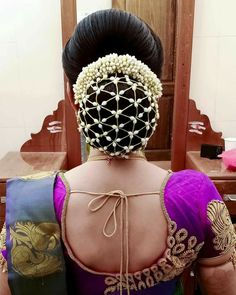 Bun Styles, Hair Styles, Hair Images, Hairstyle Images, Indian Flowers, Low Bun Hairstyles, Big Bun, Hand Bouquet, Hair Dos