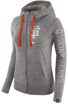 Nike Women s San Francisco Giants Gym Vintage Full Zip Hooded Sweatshirt   ad Tennessee Volunteers, 9e6079572a