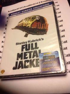 NEW-Stanley-Kubricks-Full-Metal-Jacket-DVD-Sealed  #newdvd #dvd #ebay #StanleyKubrick #FullMetalJacket #BornToKill #Maggot #kenblackcat