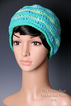 Ravelry: SpiritFire76's Retro Ripples Hat - Pattern tested for Glamour4You