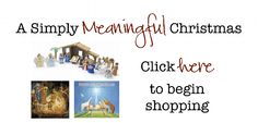 Great Resources to help make Christmas meaningful in your home!
