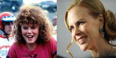| Nicole Kidman como una de las Bicivoladoras, clásico de los 80.   famosos antes y despues