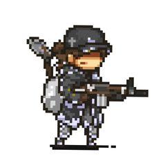 How To Pixel Art, Pixel Characters, Pixel Animation, Pixel Art Games, Zombie 2, Nature Drawing, 8 Bit, Warfare, Game Art