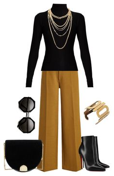 """""""turtleneck"""" by paula-parker ❤ liked on Polyvore featuring Joseph, Acne Studios, Charlotte Russe, Christian Louboutin and Ted Baker"""