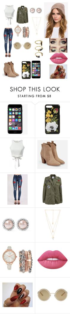 """Frances D´Fiore"" by kindabluee on Polyvore featuring moda, Dolce&Gabbana, JustFab, Pilot, Velvet by Graham & Spencer, Miu Miu, Natalie B, Jessica Carlyle, Lime Crime y Noir Jewelry"
