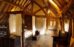 The bedroom Anne of Cleves House in Lewes on the day it re-opened to the public after a £300,000 refurbishment.
