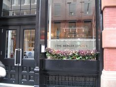 Mercer Kitchen NYC // possible lunch or dinner place for your trip with daddy!
