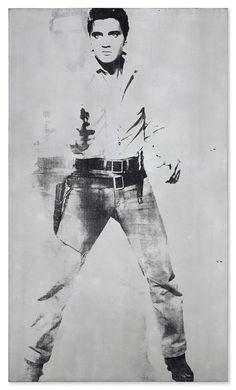 Double Elvis [Ferus Type] — Warhol's mirror to Sixties America Grace Kelly, Elvis Presley, Pittsburgh, Andy Warhol Art, Murals Street Art, American Gods, Sketch Design, Art Market, Art Pictures