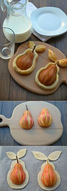 Pears in puff |  Mothers, women, grandmothers and very inquisitive.
