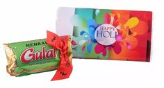 Happy Holi Mini pack- Happy Holi Milk chocolate bar Herbal gulaal color