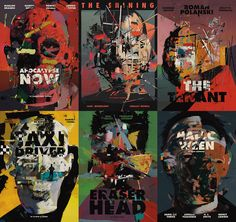 Heads of Psychopaths on Behance