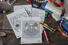 Ann Voskamps's The Greatest Gift Jesse tree coloring pages