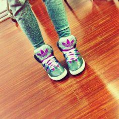 Zendaya Sporting Some Cute Adidas Shoes January 19, 2013