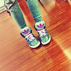 Zendaya Sporting Some Cute Adidas Shoes January 19, 2013