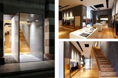 Kichijoji Store: A. has just opened up a brand new retail store location in Kichijoji, Japan. Designed by Retail Interior Design, Commercial Interior Design, Commercial Interiors, Commercial Glass Doors, Japan Shop, Glass Installation, Fine Hotels, Shop Interiors, Architectural Elements