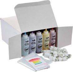 Amazon.com: Tulip one-step tie-dye Ultimate Summer Bundle Tie Dye Supplies, Party Supplies, Tulip Tie Dye, Tie Dye Kit, One Step, Tie Dye Patterns, Popular Colors, Party Packs, Rubber Bands