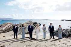 Beside the Seaside - Sarah & Mick's Real Wedding by Andrew O'Dwyer Photography