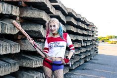 "Harley Quinn (Suicide Squad) Cosplay by Marty Novotna (me) FB page: facebook.com/MartyCosArt Photo by Já ""fotograf"""