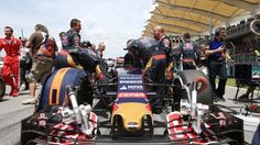Max Verstappen (NDL) Scuderia Toro Rosso STR10 on the grid  at Formula One World Championship, Rd2, Malaysian Grand Prix, Race, Sepang, Malaysia, Sunday 29 March 2015. © Sutton Motorsport Images