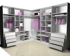 53 Design Wardrobe That Is In Trend - Home-dsgn Walk In Closet Design, Bedroom Closet Design, Master Bedroom Closet, Closet Designs, Bedroom Decor, Bedroom Wardrobe, Wardrobe Closet, Closet Space, Bedroom Cupboards