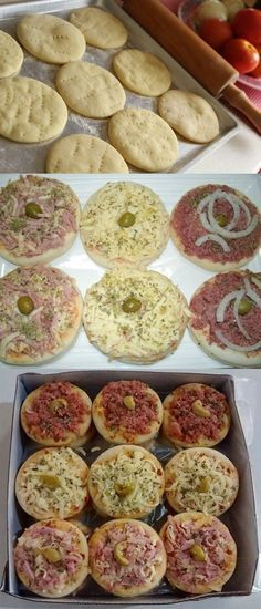 Mini Pizza rápida e Deliciosa! #pizza#mimipizzarápida#comida #culinaria #gastromina #receita #receitas #receitafacil #chef #receitasfaceis #receitasrapidas