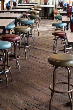 Interior design | decoration | restaurant design | stools