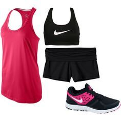workout clothes for Theodora's run