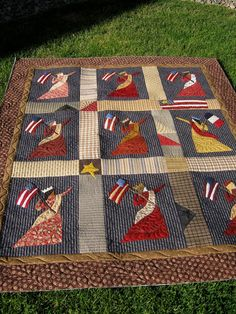 I've been plugging away on Lady Liberty for years! Between client quilts, i had a chance to slip it onto my longarm. Applique Patterns, Applique Quilts, Quilt Patterns, Flag Quilt, Patriotic Quilts, Blue Quilts, Mini Quilts, Heart Shapes Template, Liberty Quilt