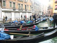 Lovely Gondola ride <3 Venice, Italy - 2010