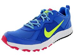 uk availability 31ba0 d4f81 Nike Womens Wild Trail Hypr CbltVltUnvrsty BlFchs Running Shoe 55 Women US  *** This