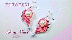 "Tutorial macrame earrings "" Clarissa ""/ Diy tutorial / Simple earrings"