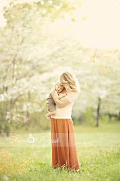 mother and child photo. spring. Anna Pociask Photography  @Christine Berry  Charity! We must do this!!