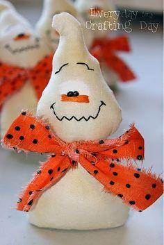 Halloween:  Too cute... little ghosts.
