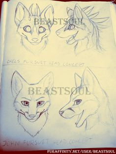 fursuit head tutorial - Google Search love them both!! Especially the top!! Have to remember this for designing!!