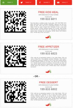 New Chili's Coupons: FREE Kids Meal or Queso & Chips!